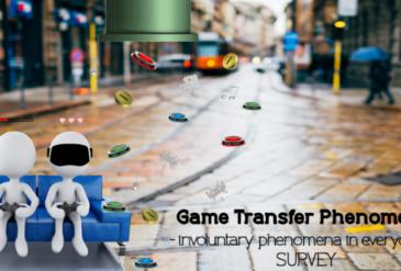 Participate in a new survey on Game Transfer Phenomena!